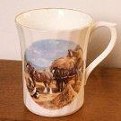 Royal Stuart Mug HORSE & HAY WAGON Signed England