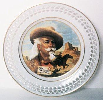 Bing & Grondahl Collector Plate PONY EXPRESS BUFFALO BILL Denmark