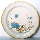 Mikasa BLUE DAISIES Salad Plate Garden Club EB804 Japan