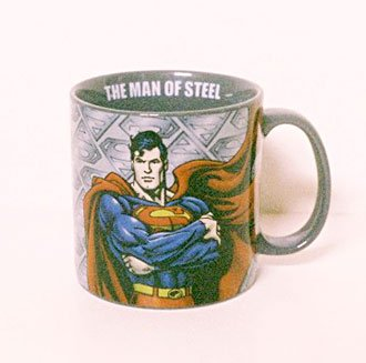 DC Comics MAN OF STEEL Superman Mug 20-oz