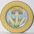 Debbie Mumm BLUE RIBBON Salad Plate Corn Sakura