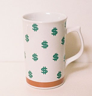Studio Nova MONEY Cappuccino Mug Japan