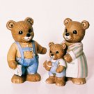 Homco THREE BEARS Figurine 1450