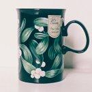 Dunoon Mug MISTLETOE Scotland Christmas Caroline Bessey