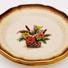 Mikasa AUTUMN SONG E8003 Salad Plate Whole Wheat Japan