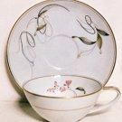 Noritake RC Cup & Saucer #1389 Japan Vintage