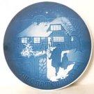 Bing & Grondahl B&G Country Christmas Plate 1973 Denmark