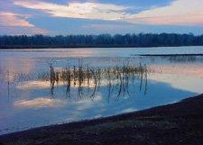 "Boston Pond Sunrise**8""x10"" Matted Original Photo"
