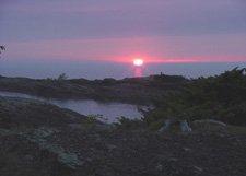 "Copper Harbor Michigan Sunset**8""x10"" Matted original Photo"