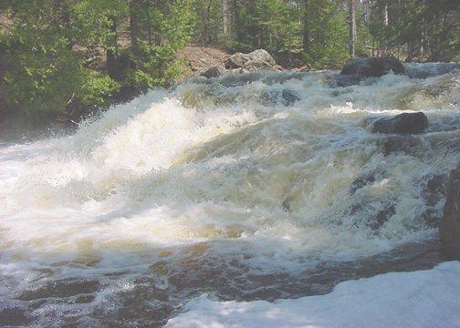 Eagle River Falls**Original Matted Photo