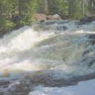 Eagle River Falls**Original Matted Photo