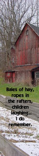 Old Barn*Bales of Hay**Inspirational