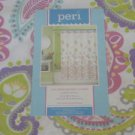 Peri Multi Bright Paisley Shower Curtain NEW Pink Blue