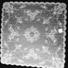 Floret Table Topper Lace 36 Inches x 36 Inches White