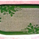 Winter Greens Table Runner 14 x 32 Hunter Green Heritage Lace