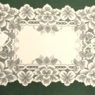 Heirloom Placemat  14 x 20 Ecru Heritage Lace