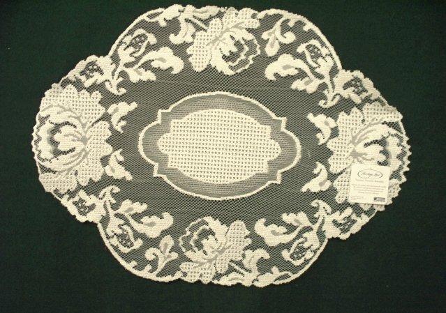 Doilies Windsor Lace Doily 12 x 16 Ecru Heritage Lace Set Of (2)