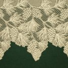 Woodland Mantle Scarf Ecru 20 Inches x 88 Inches Heritage Lace
