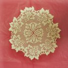 Doily Savoy Lace 13 R Antique Gold Heritage Lace Set Of (2)