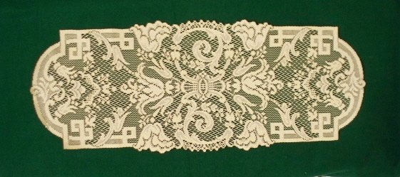 Table Runner Empress 14 x 36 Antique Gold Table Runner Oxford House