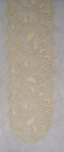 Heritage Lace Bristol Garden Table Runner 14 x 60 Cafe So Elegant