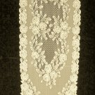 Heritage Lace Tea Rose Table Runner 14 x 72 Ecru A Beautiful Runner