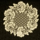 Doilies Cottage Rose Doily 15 Round Heritage Lace