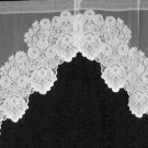 Curtains Cleremont Curtain Swag White 60 Wide x 38  Inch Drop Heritage Lace