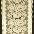Table Runners  Roses & Bows Table Runner Ivory Color 14 x 54