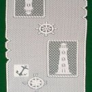 Exquisite Set Sail Table Runner 14 inches x 54 inches White Heritage Lace