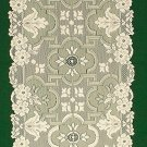 Table Runner Filigree 14 x 54 Ivory Heritage Lace