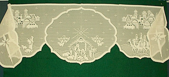 nativity lace mantle scarf pictures