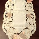 Lace Runner Autumn Elegance 15x54 Cream Heritage Lace