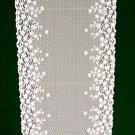Blossom Table Runner 12x54 white Heritage Lace