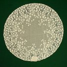 Lace Doilies Blossom 20 R Ivory Heritage Lace Set Of (2)