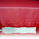 Lace Tablecloths Holly Vine 70x90 Red Tablecloth Heritage Lace