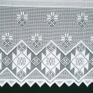 Curtain Tiers Quilts White 60x24 Window Treatments Oxford House