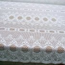 Tablecloth Valencia White 60x84 Table Linens Oxford House