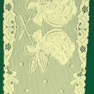 Angels Table Runner 14x52 Ivory Heritage Lace