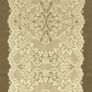 Table Runners Savoy Lace Runner 14 x 54 Medium Antique Gold Heritage Lace