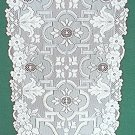 Table Runners Filigree Table White 14 x 90 Heritage Lace