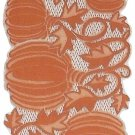 Table Runners Pumpkin Vine 14x60 Orange Table Runner Heritage Lace