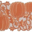 Table Runners Pumpkin Vine 14x36 Orange Table Runner Heritage Lace
