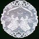 Doily Victorian Angels White 20 Inch R Set Of (2) Heritage Lace