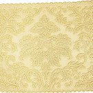 Heritage Damask Placemat 14 x 20 Colonial Gold Set Of (4)