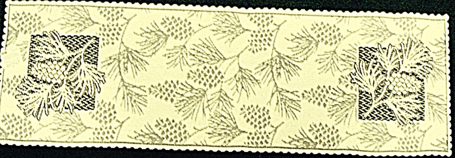Table Runners Woodland 14 x 45 Ecru Table Runner Heritage Lace
