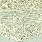 Curtains Cameo 59x19 Ecru Curtain Valance Oxford House