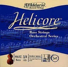Helicore 1/2 Upright Bass Strings - H610