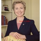 Hillary Clinton Photo 8x10 with preprinted Autograph