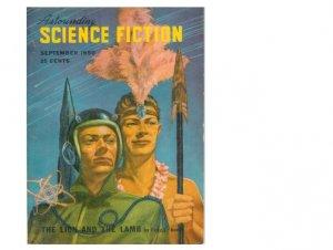 Astounding Science Fiction, Sept. 1950 issue w/Fritz Leiber etc.
